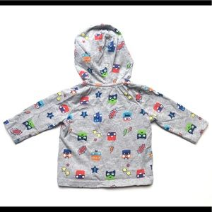 Gymboree Shirts & Tops - Baby Gymboree Super Monsters pullover Hoodie